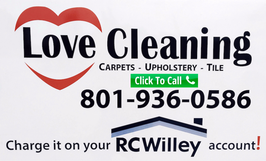Love Cleaning - Premier Utah Carpet Cleaners - RC Willey